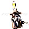 Лампы LED H4 3Режима всепогодные 3000К+6000К