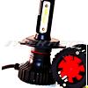 Лампы LED Y-99 H4 6000K 8000LM 12V-24V к-т головной свет