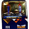 Лампы H4 Маяк  60/55 gold к-т + 60%