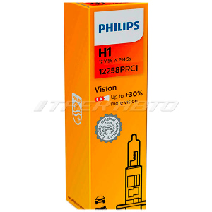 Лампа H1 PHILIPS 55W +30% 12258PRC1