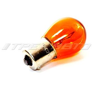 Лампа PY21W NARVA (желтая) смещ. цок. 17638