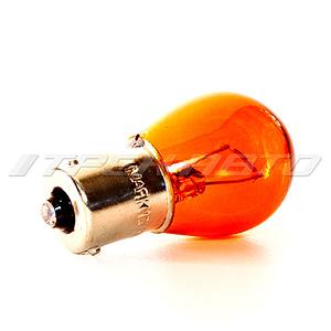 Лампа PY21W Маяк (желтая) смещ. цок.