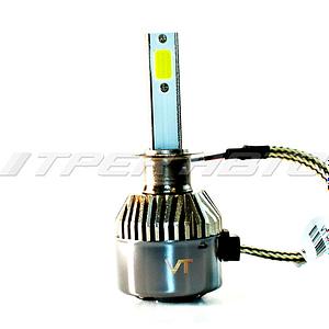 Лампы LED C9 H1 6000 K головной свет к-т
