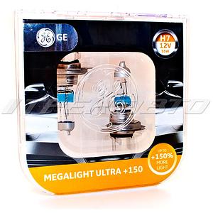 Лампы GE H7 +150%