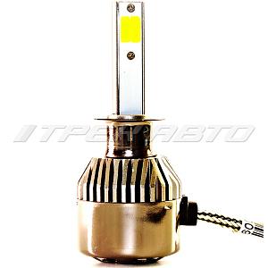 Лампы LED H1 3Режима всепогодные 3000К+6000К