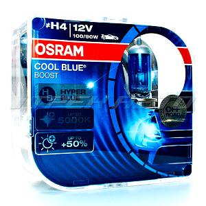 Лампы OSRAM H4 100/90W к-т 5000к
