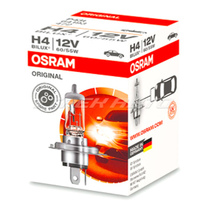 Лампа H4 OSRAM ORIGINAL 55W 64193