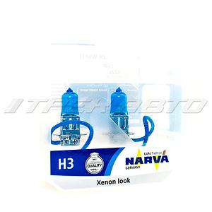 Лампы NARVA H3 55W к-т RPW 48602