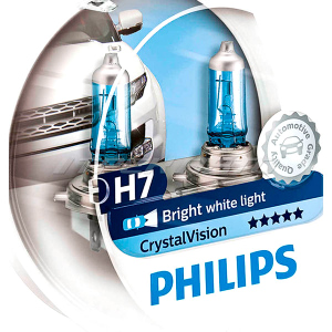 Лампы PHILIPS H7 Crуstal VISION 12972CVSM