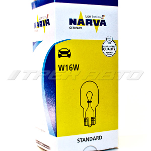 Лампа W16W NARVA