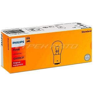 Лампа P21W PHILIPS 12498