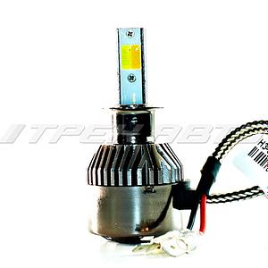 Лампы LED C9 H3 6000 K головной свет к-т