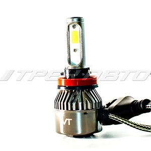 Лампы LED C9 H11 6000 K головной свет к-т