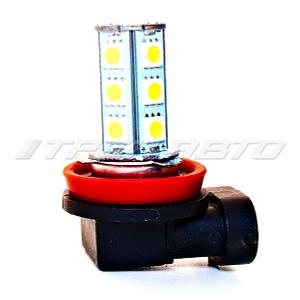 Лампа H11 SMD диодная 18 диодов
