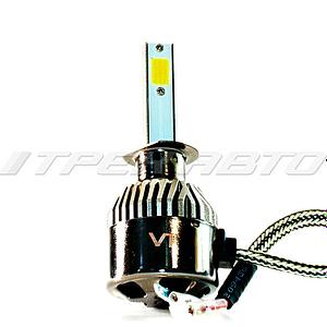 Лампы LED C9 H1 4300 К 12V-24V к-т головной свет
