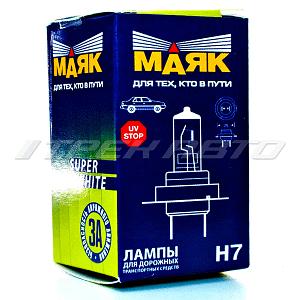 Лампа H7 Маяк 55W