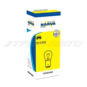 Лампа P21/5W NARVA