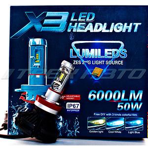 Лампы LED X3 H11