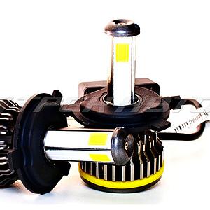Лампы LED S10 H4 четырехсторонние