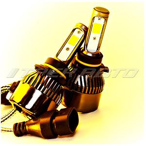 Лампы LED HB4 3Режима всепогодные 3000К+6000К