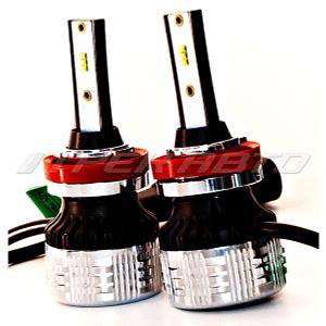 Лампы LED C9 H11 150W 12000LM 6000K 12V-24V к-т головной свет