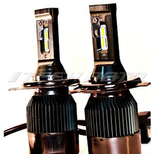Лампы LED S8 H4 6000K 60W 12V-24V к-т головной свет