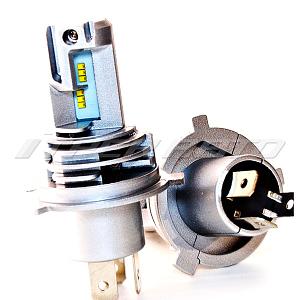 Лампы LED M3 H4 ZES светодиоды четкая граница компактные как OSRAM