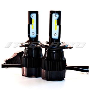 Лампы LED H72 H4 четкая граница медный проводник