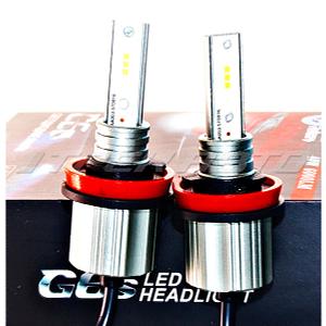 Лампы LED G6s H11 40W четкая граница радиатор
