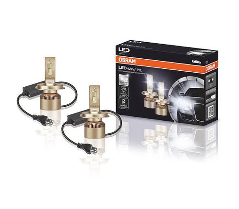 Лампы LED OSRAM H4 головной свет к-т 2шт ОРИГИНАЛ