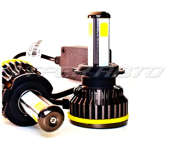 Лампы LED S10 H7 четырехсторонние