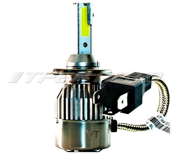 Лампы LED C9 H4 6000 K 12V-24V к-т головной свет