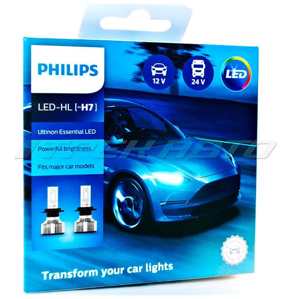 Лампы LED PHILIPS H7 головной свет к-т 2шт ОРИГИНАЛ