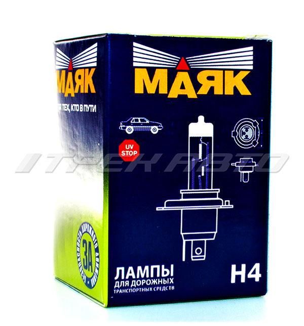 Лампа H4 Маяк 100W