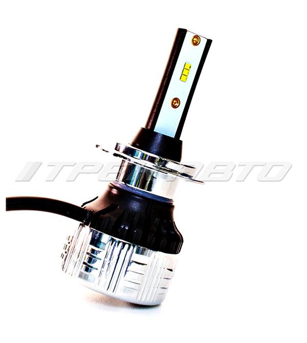Лампы LED C9 H7 150W 12000LM 6000K 12V-24V к-т головной свет