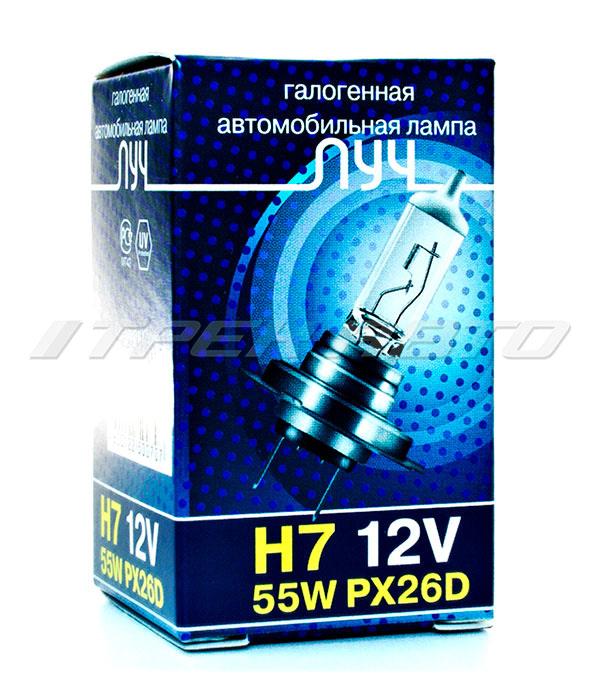 Лампа H7 Луч 55W